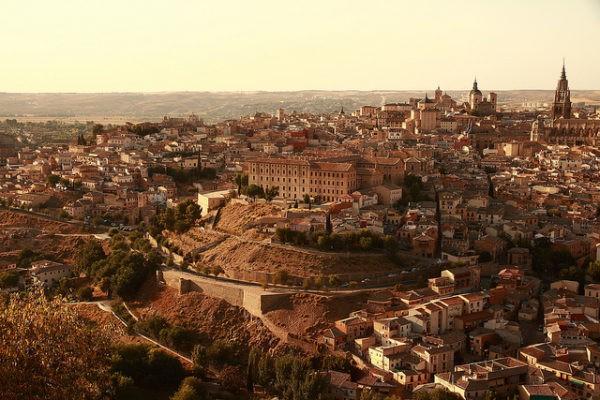 Vistas de Toledo, una de las mejores ciudades de España para hacer turismo cultural