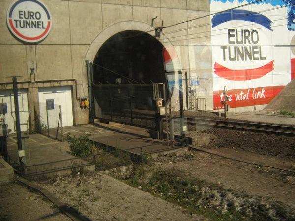 El Eurotunel es uno de los más largos del mundo