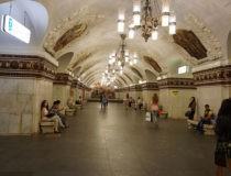 El Metro de Moscú, uno de los más bonitos de Europa