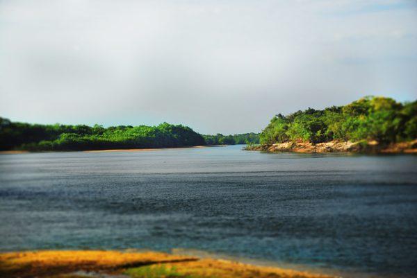 Río Apure en Venezuela