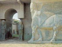 La estatua de un Lamassu de Nimrud ha sido replicada con impresoras 3D