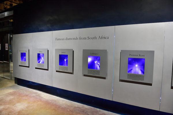 Sudáfrica es uno de los países productores de diamante