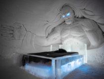 El hotel de hielo de Laponia tiene este año 2018 temática de Juego de Tronos