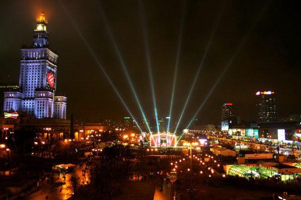 La Plaza del Desfile, en Varsovia, es una de las más grandes de Europa