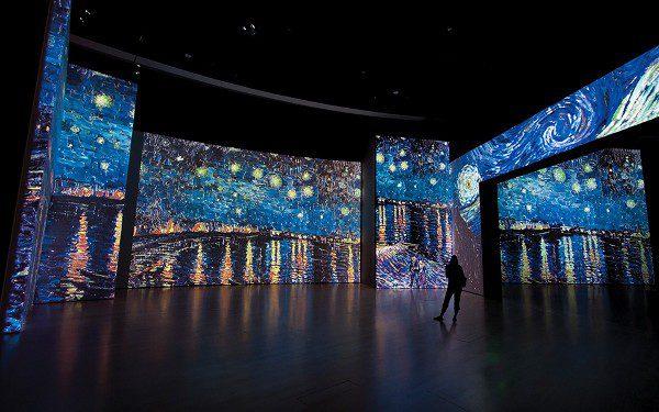 Van Gogh Alive es una exposición diferente
