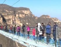 El puente de cristal de Hongyagu, solo apto para los más valientes
