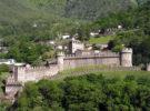 Los tres castillos de Bellinzona, en Suiza