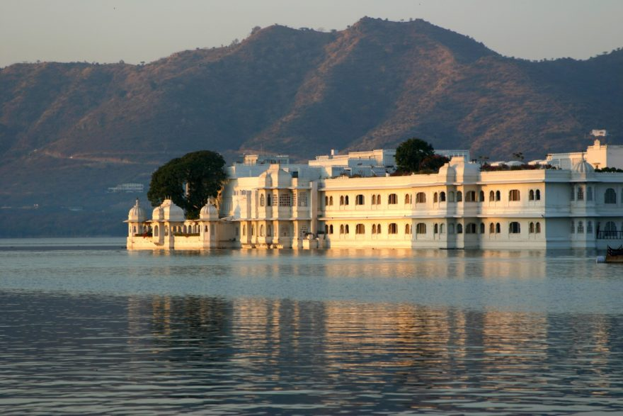 El Palacio del Lago, una construcción histórica ubicada en Udaipur