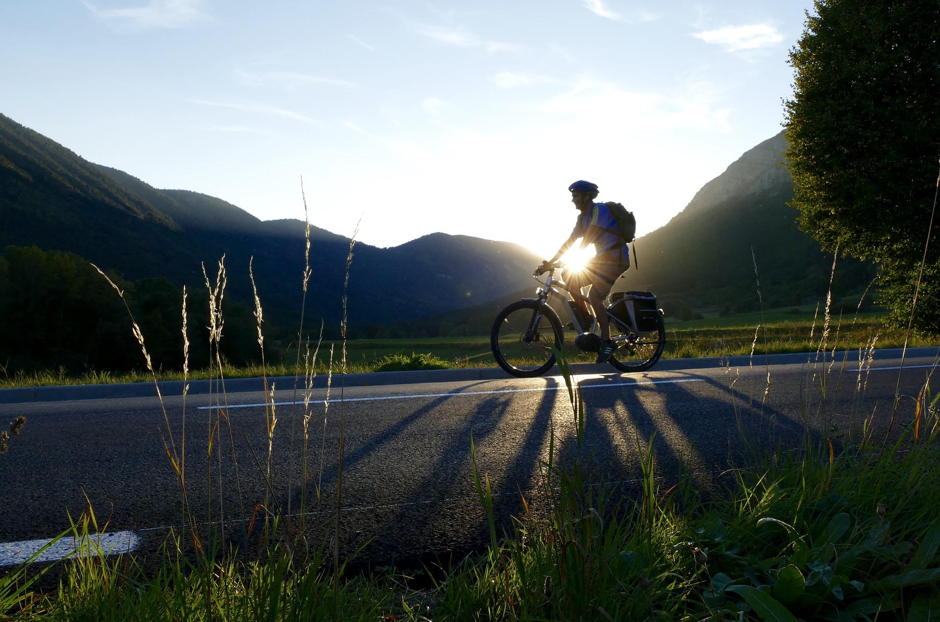 Cicloturismo con bicicleta eléctrica