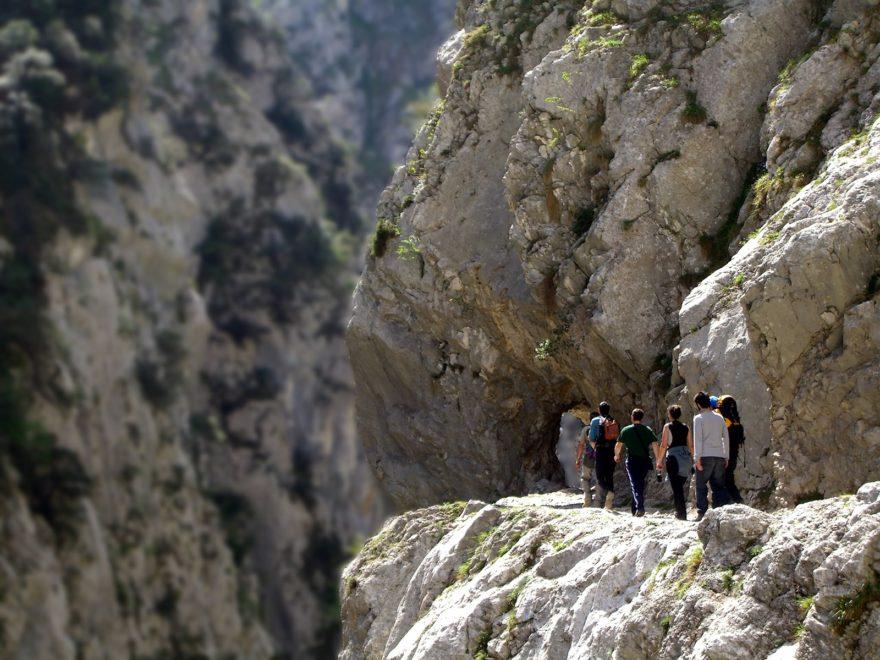 Vista de la Ruta del Cares, entre León y Asturias