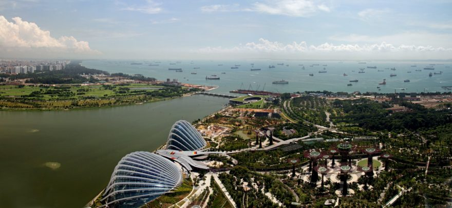 Jardines de la Bahía, un lugar natural espectacular para conocer en Singapur