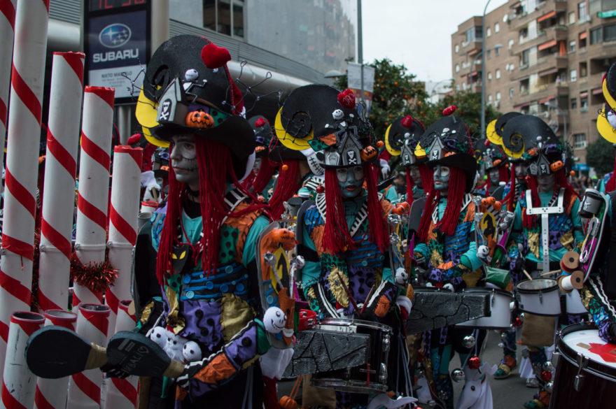 El carnaval es la fiesta más importante en Badajoz