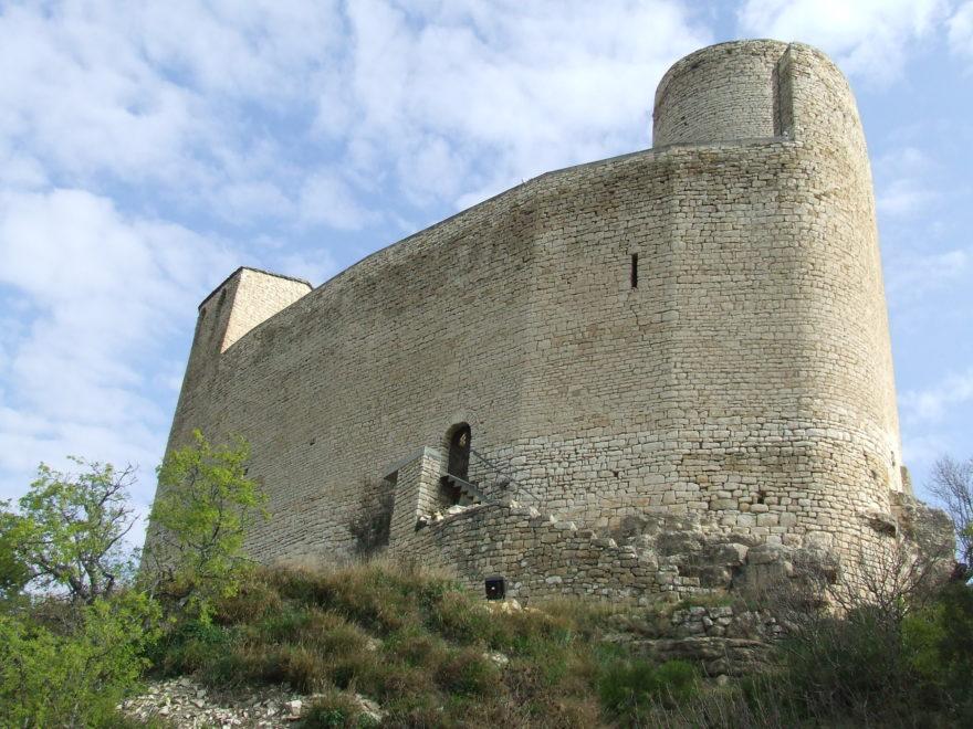 El Castillo de Mur es uno de los más antiguos de Lleida