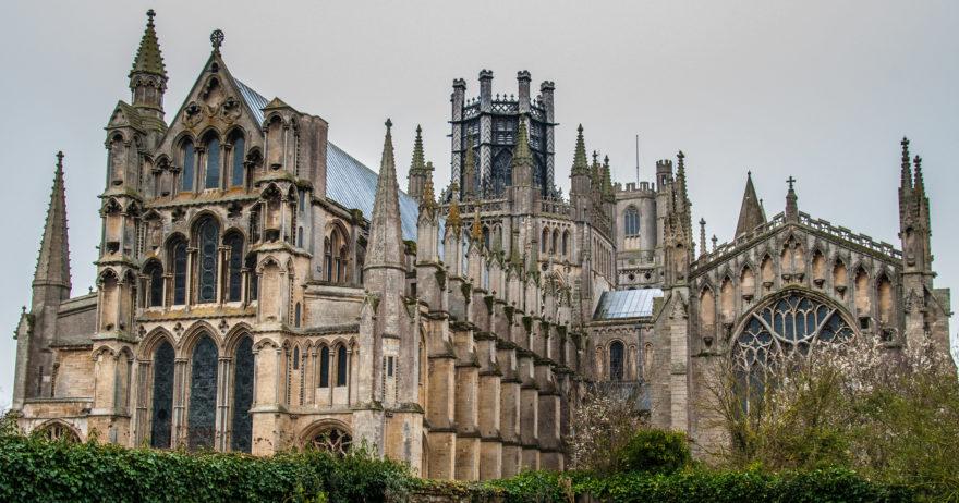 La Catedral de Ely es una de las catedrales de estilo normando