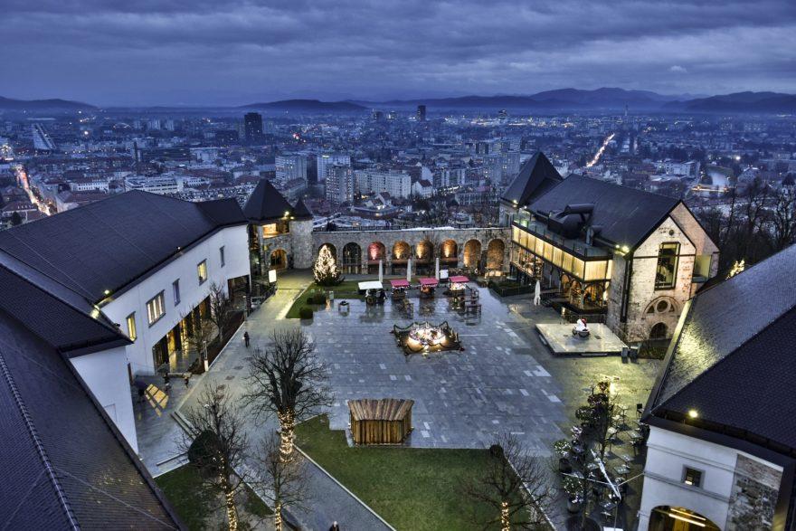 El castillo de Liubliana, una visita imprescindible para disfrutar en Eslovenia