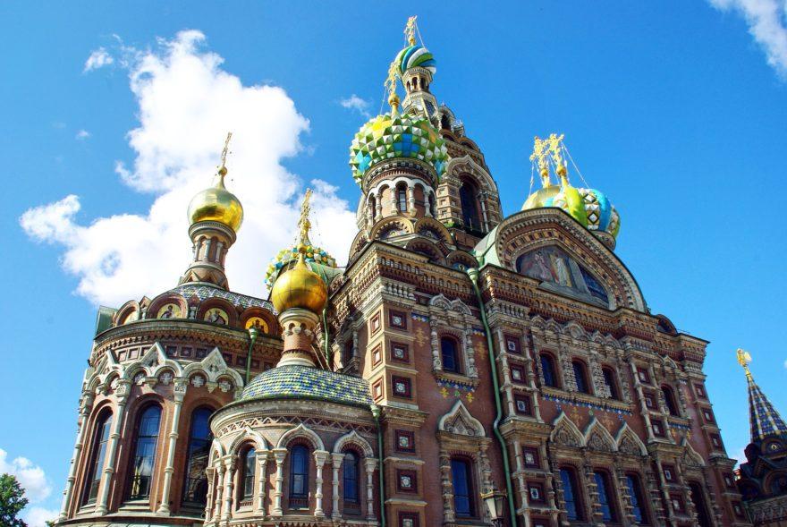 Iglesia Salvador Sangre Derramada San Petersburgo