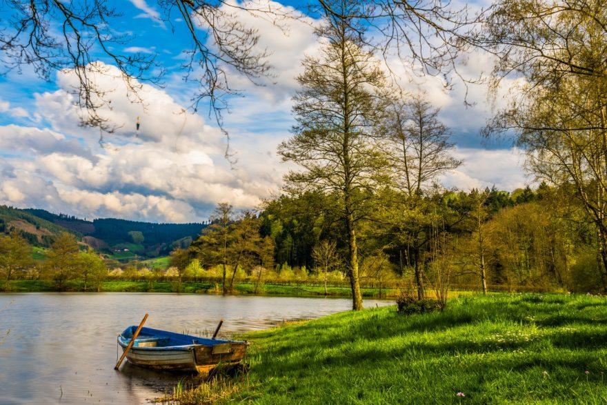 Lago Paisaje Porconocer