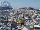 Alesund, una fascinante ciudad en Noruega