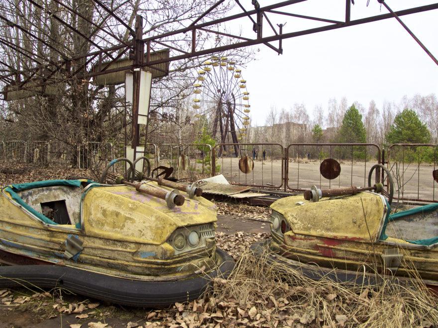 La ciudad fantasma de Pripiat, en Ucrania
