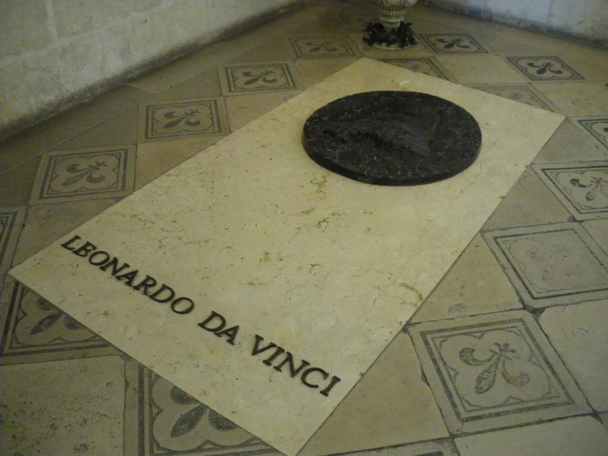 Tumba de Leonardo Da Vinci