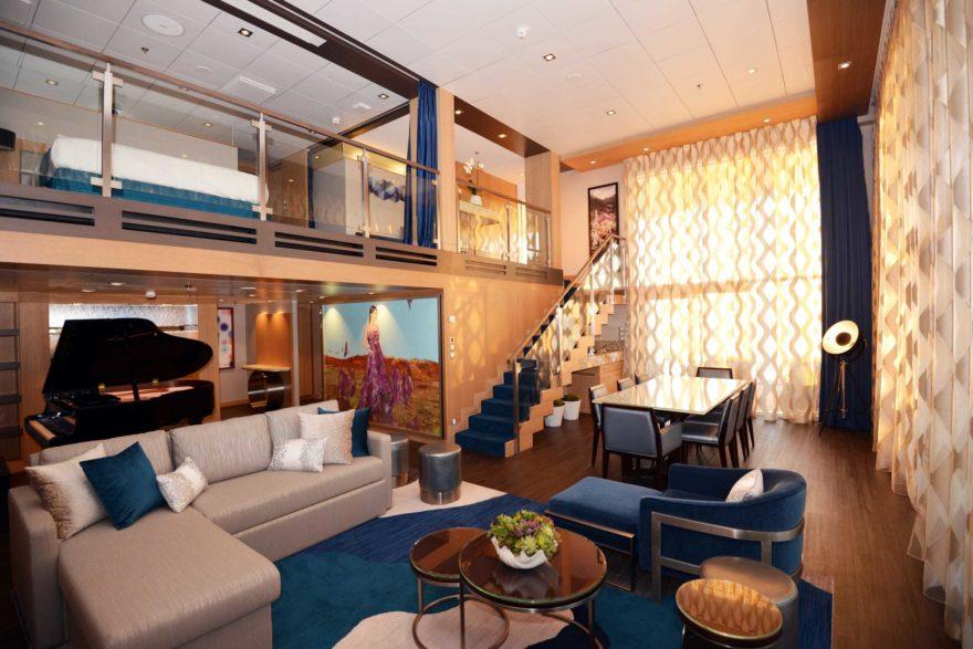 Royal Loft Suite en crucero Royal Caribbean