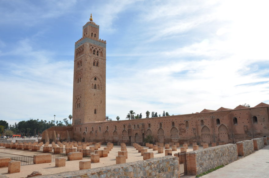 La Mezquita de Kutubiya, en Marrakech