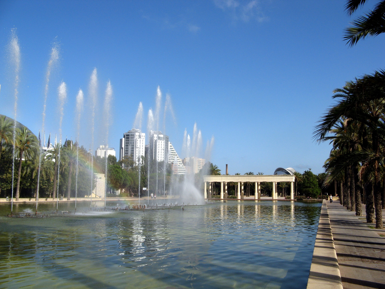 Jardines Turia Valencia