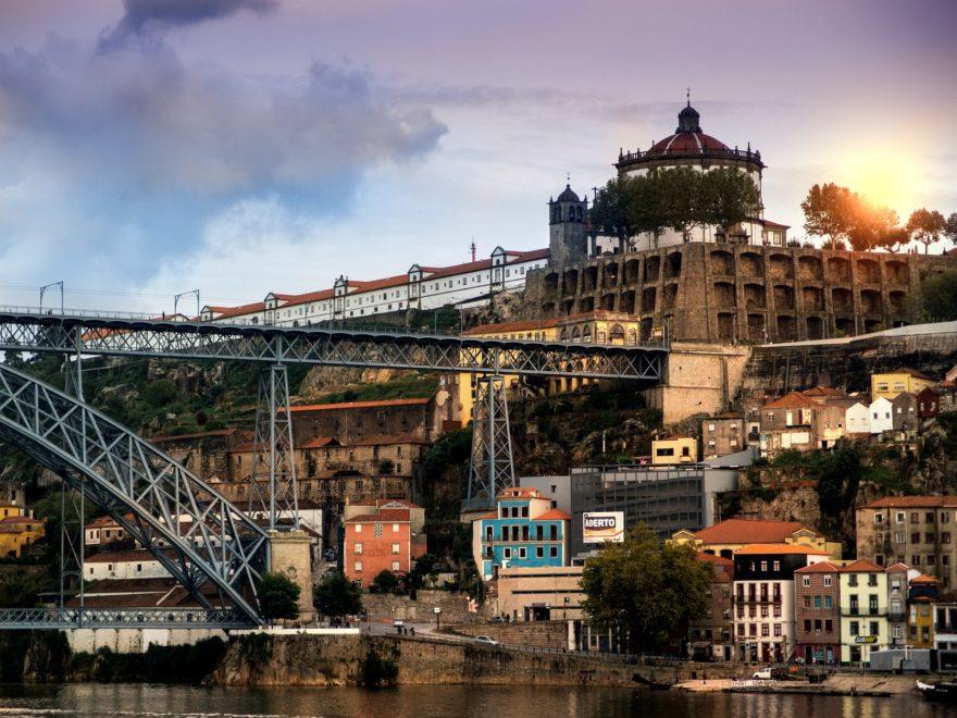 Oporto Puente Luis I