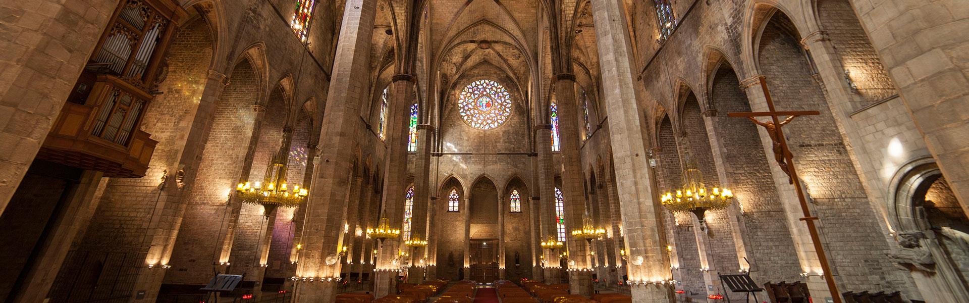 Santa Maria De Mar Barcelona