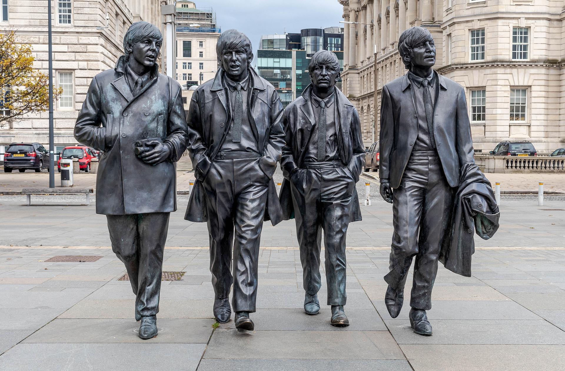 Liverpool Estatua Beatles