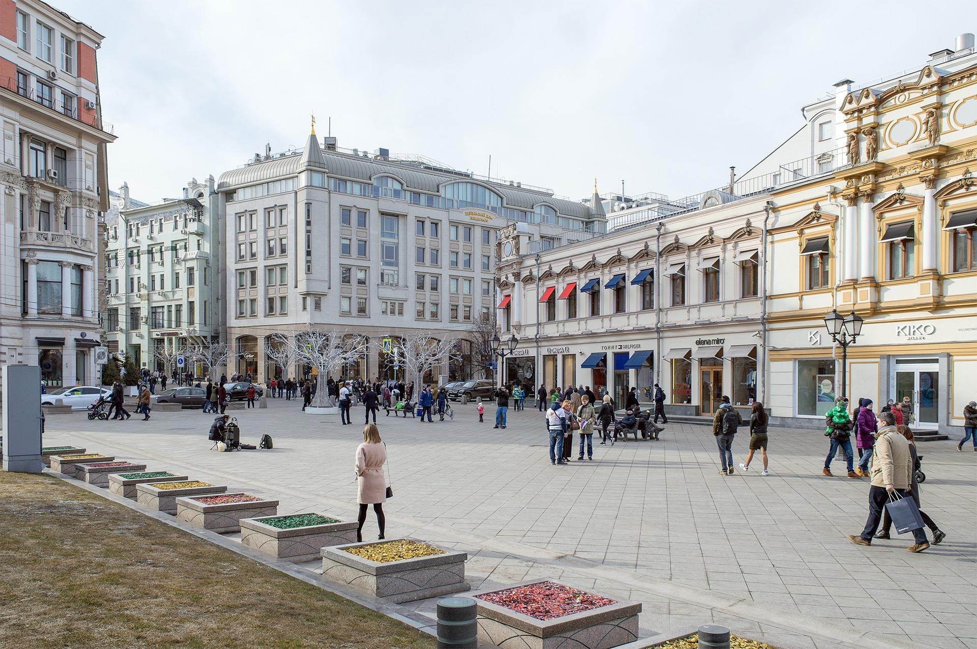 Calle Moscu Visita