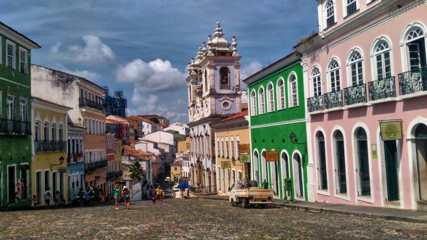 El centro histórico de Salvador de Bahía es Patrimonio de la Humanidad