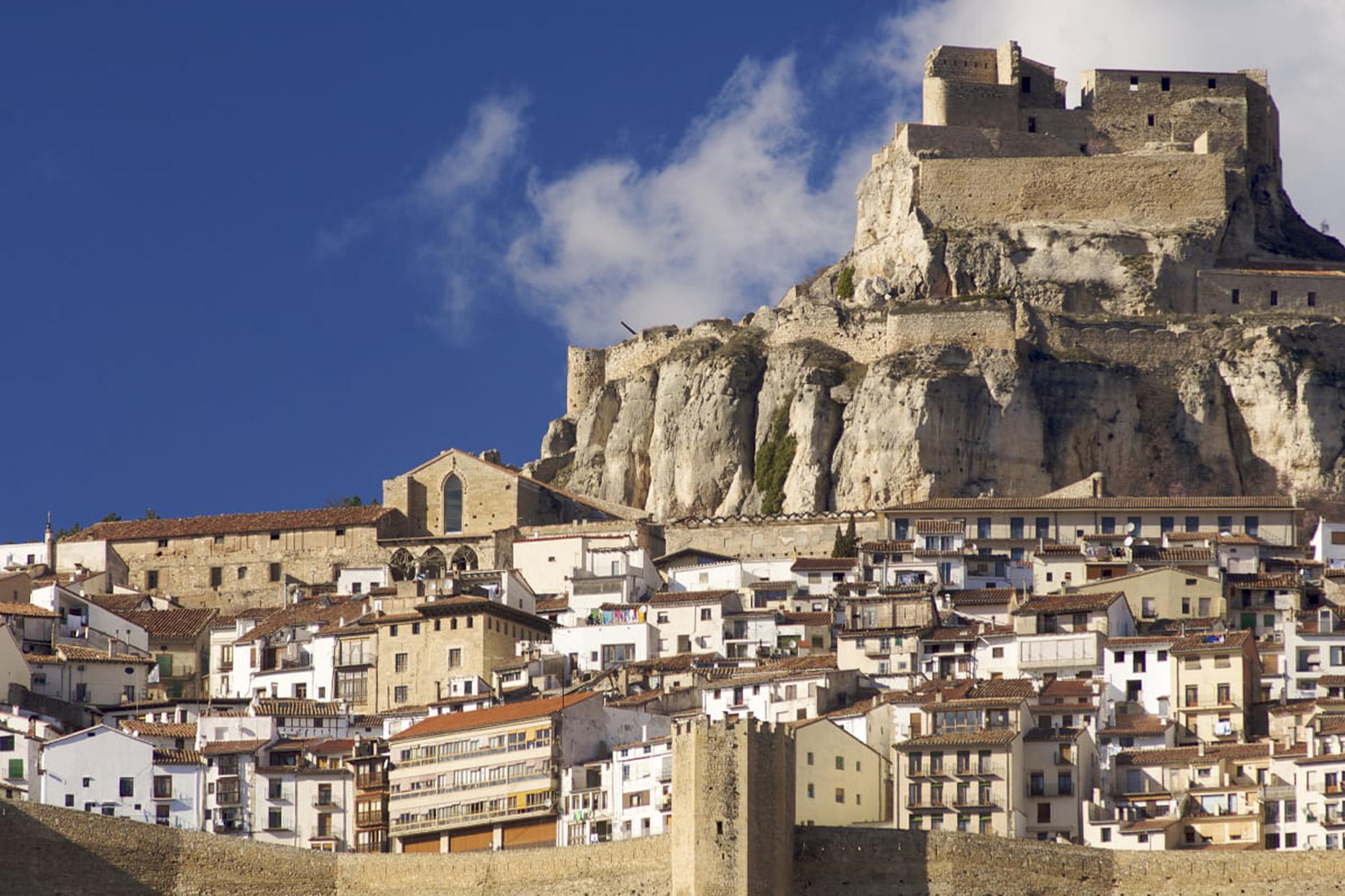 Castillo Morella Castellon