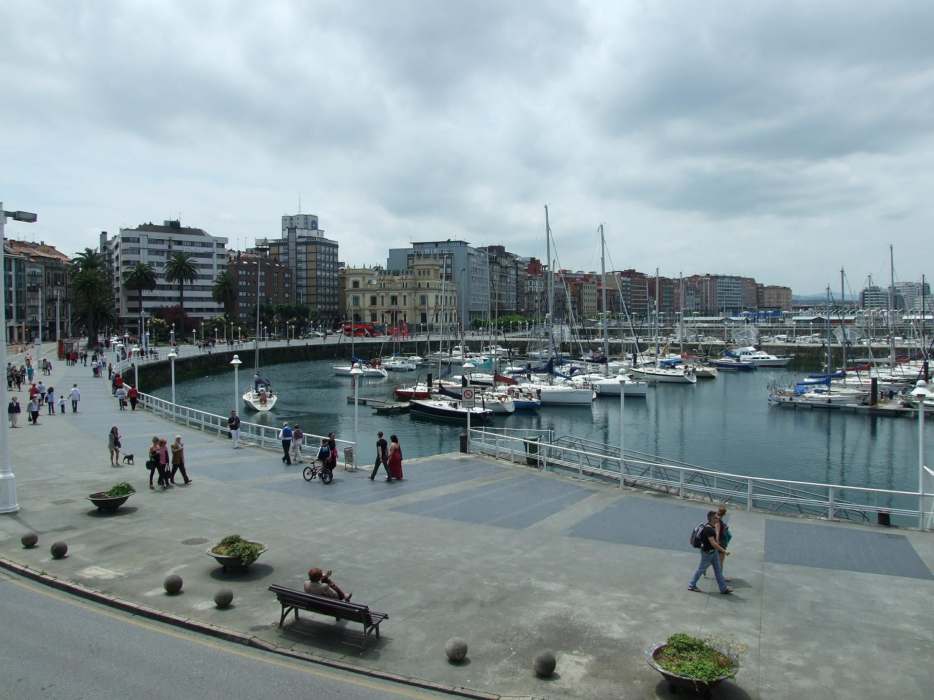 Muelle Gijón Semana Negra
