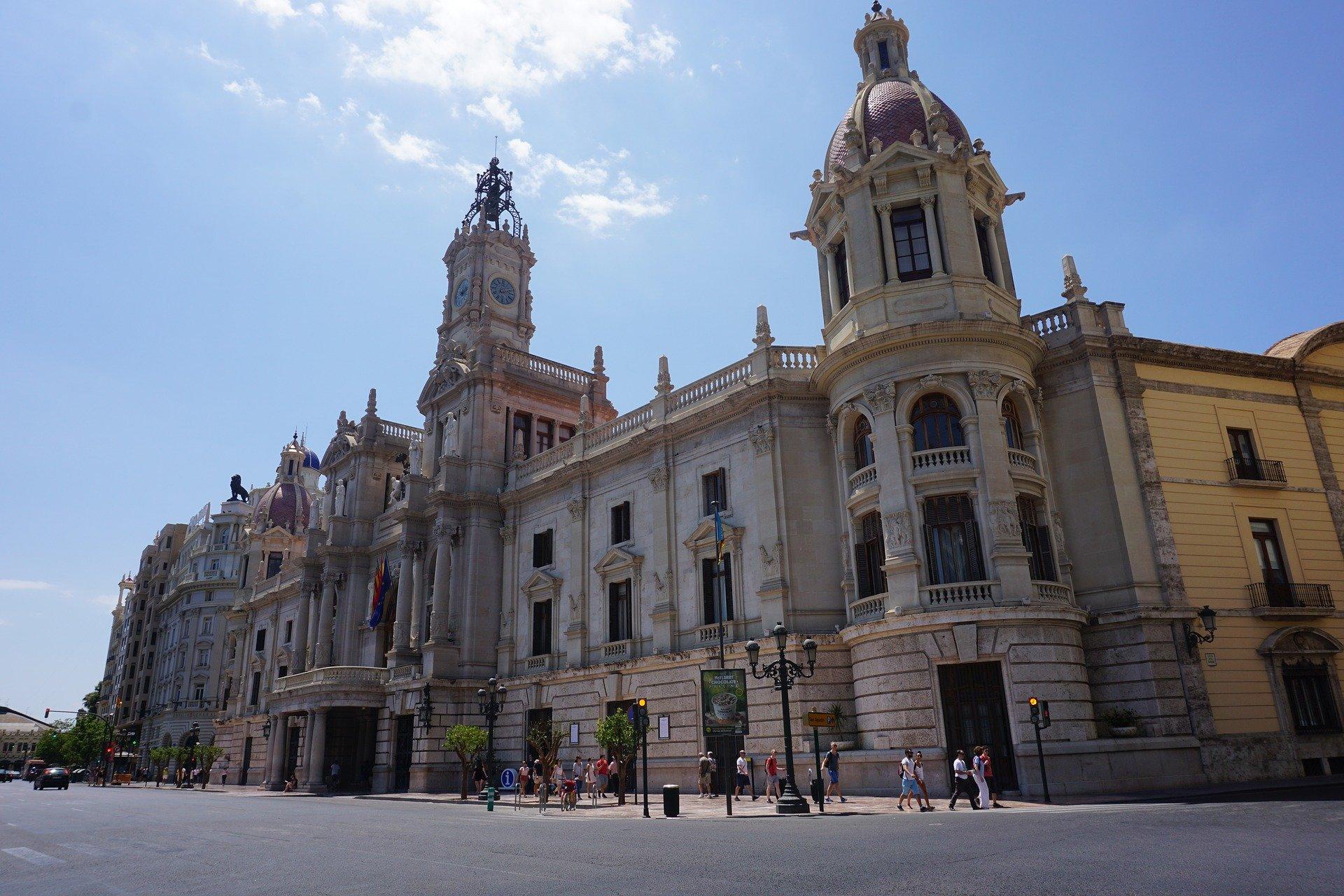Plaza Ayuntamiento Valencia