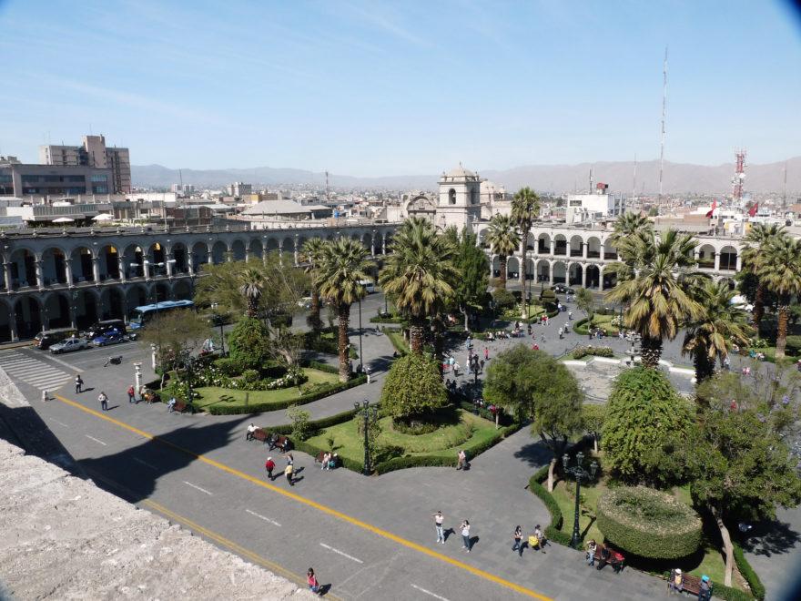 Arequipa, tercera ciudad de Perú que es Patrimonio de la Humanidad