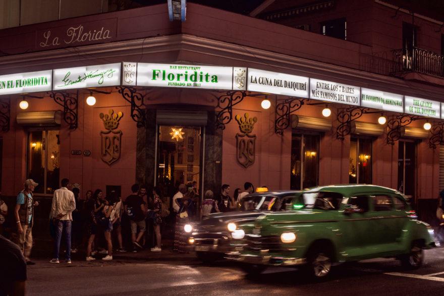 El Floridita, en La Habana, es uno de los bares más famosos del mundo
