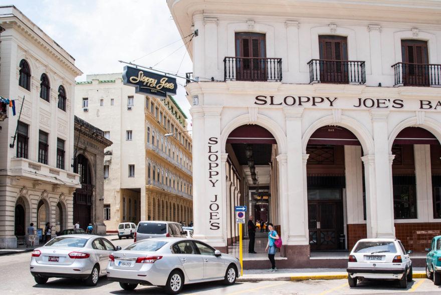 Sloppy Joe es un bar clásico de La Habana