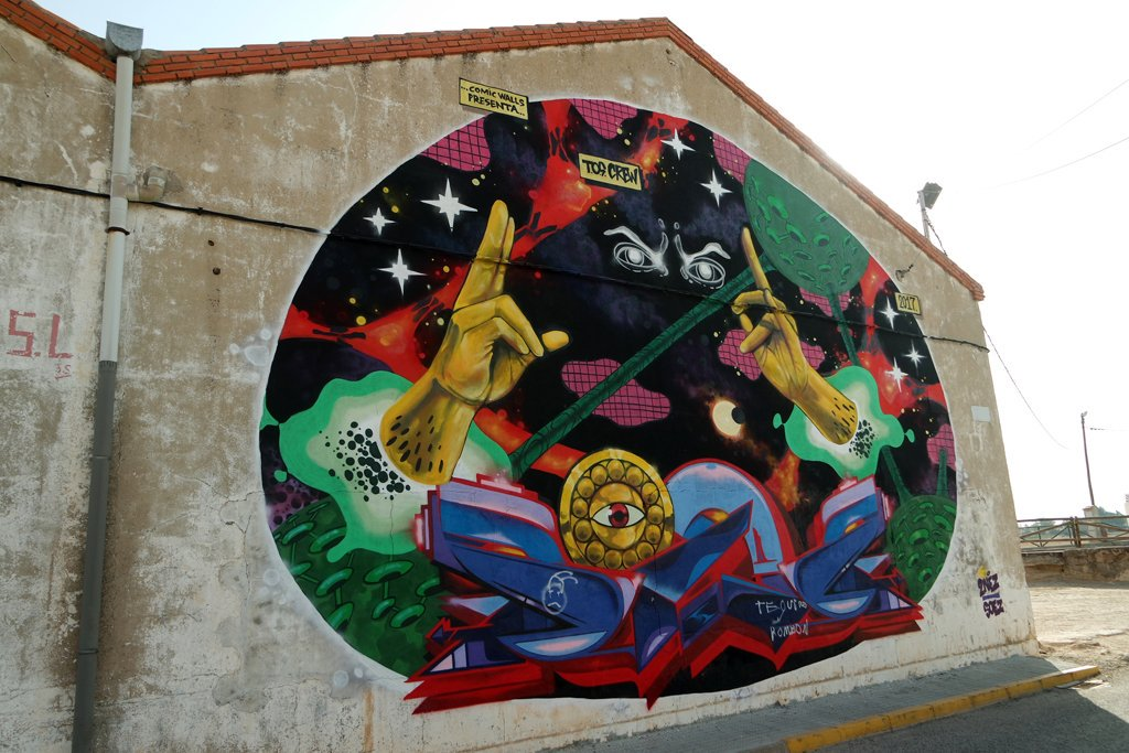 Arte Urbano Murales Provencio