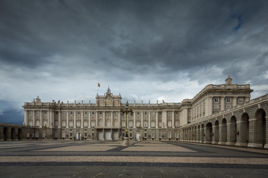 El Palacio Real de Madrid es la residencia oficial de los Reyes de España