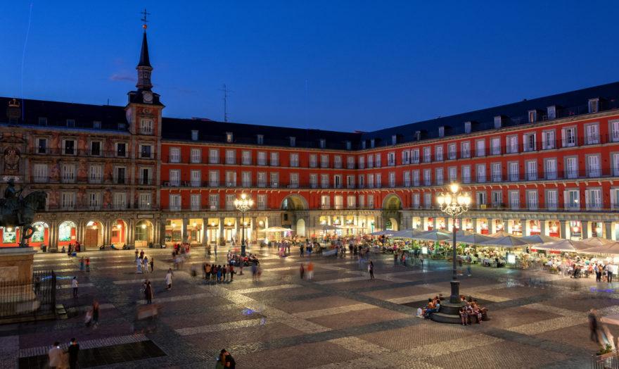 La Plaza Mayor de Madrid es uno de los centros neurálgicos de la ciudad