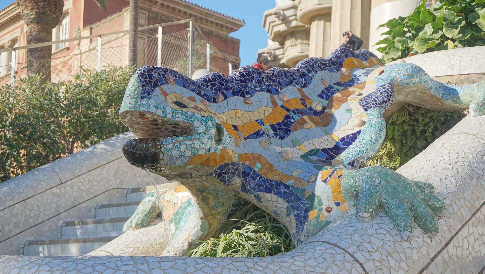 Dragon Gaudi Barcelona