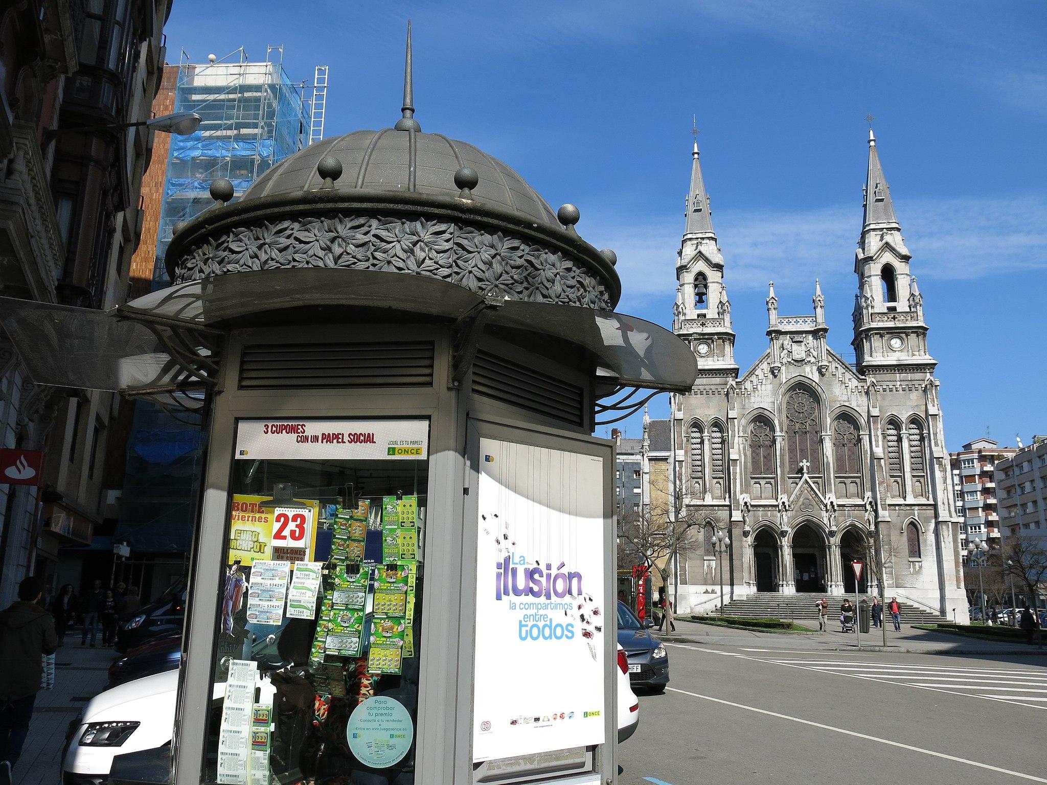 Aviles Iglesia Santo Tomas Canterbury