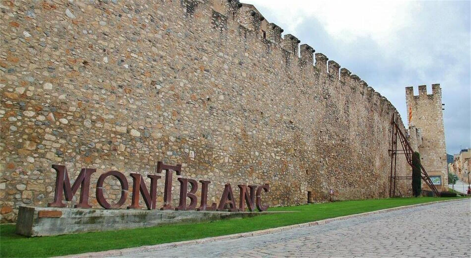 Montblanc Muralla Tarragona
