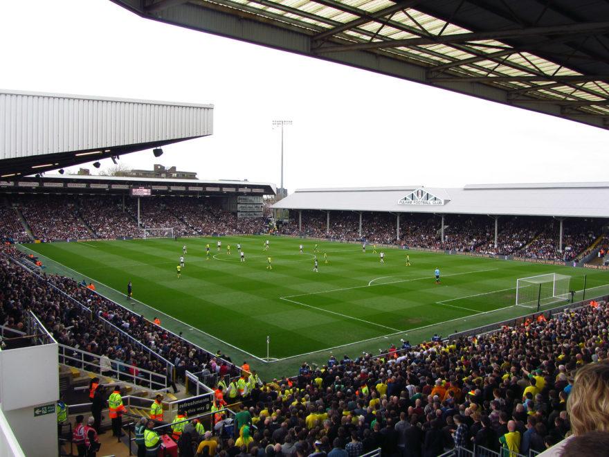 Craven Cottage es uno de los estadios con más solera del fútbol inglés