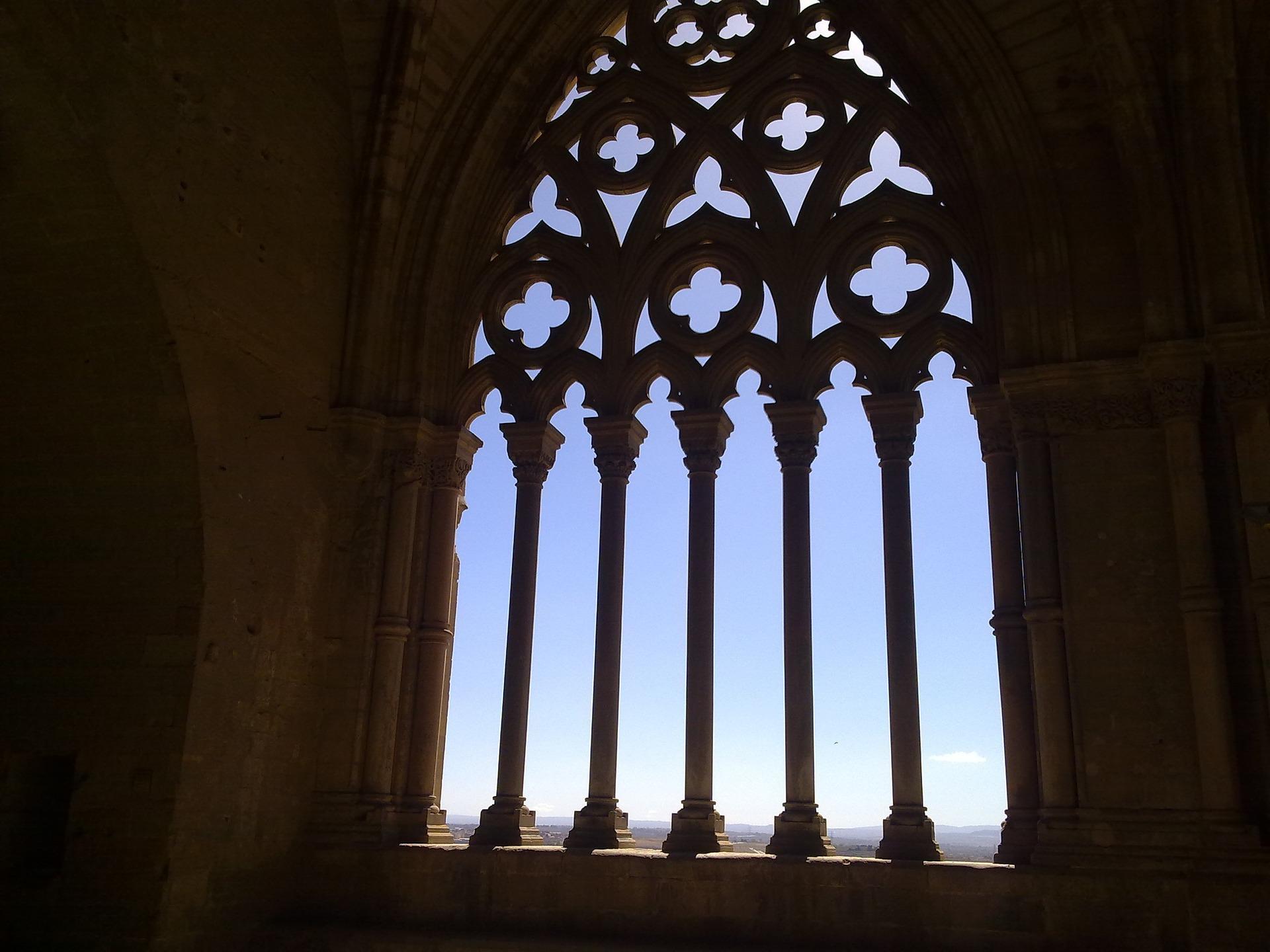 Lleida Seu Vella Arco Gotico