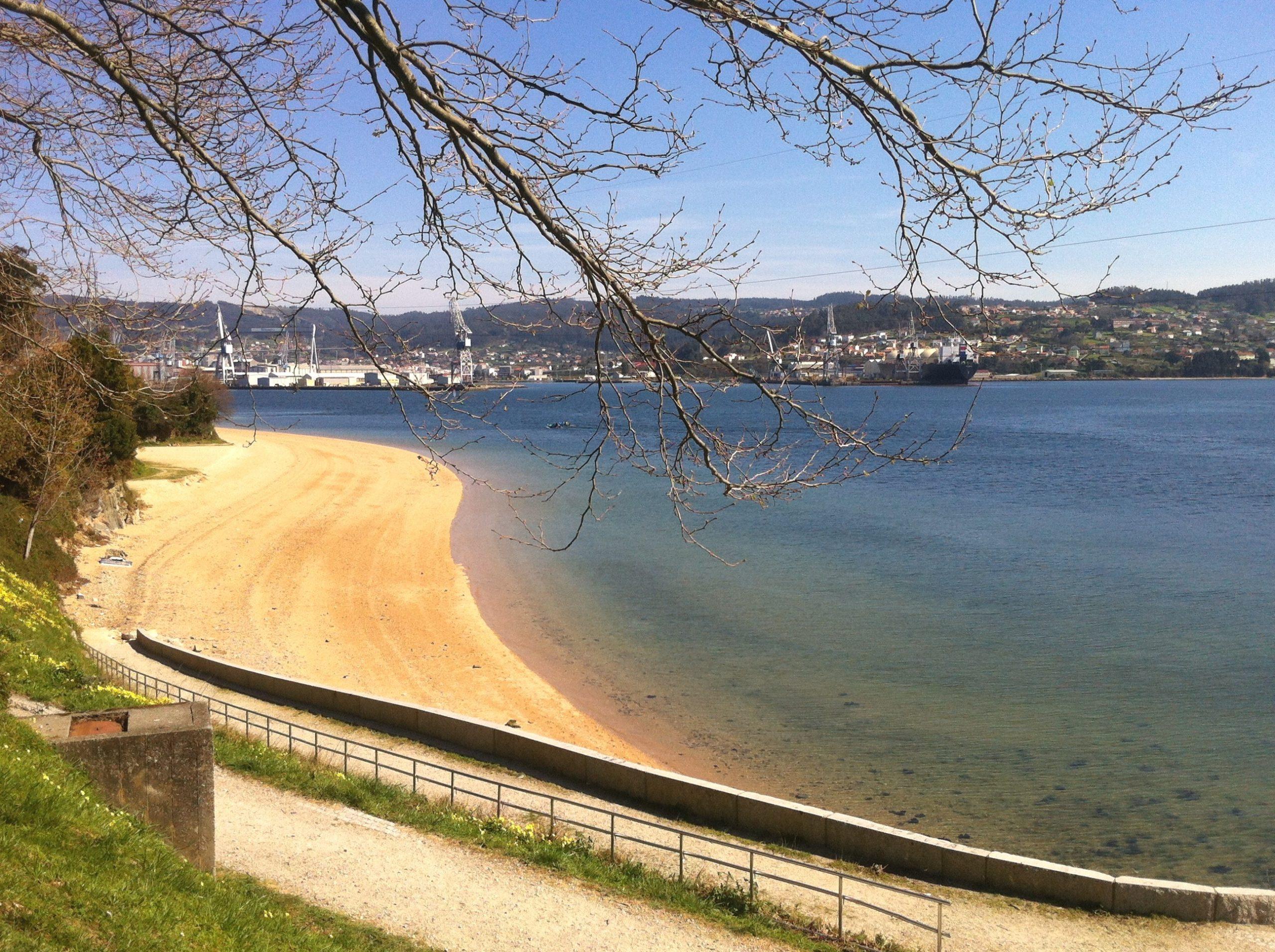 Playa Carranza Ferrol