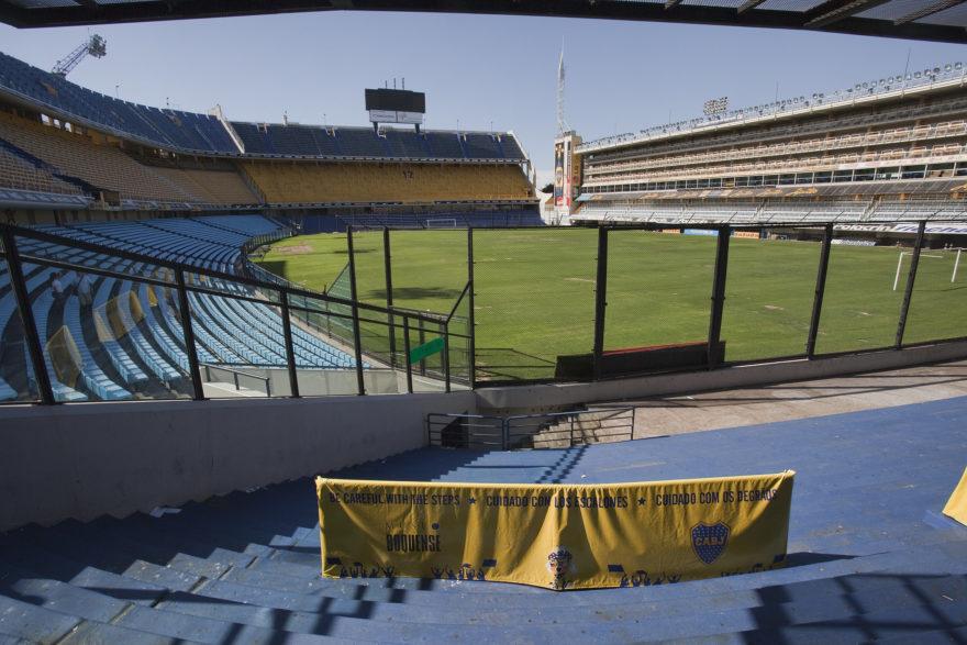 La Bombonera, de Boca Juniors, es uno de los estadios más conocidos del mundo
