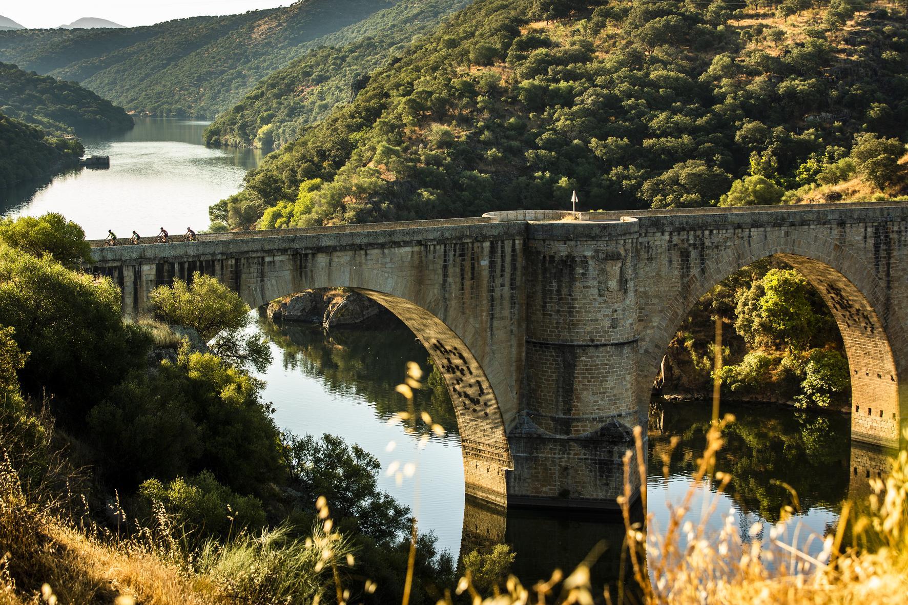 Puente Albalat, en Monfrague, Cáceres