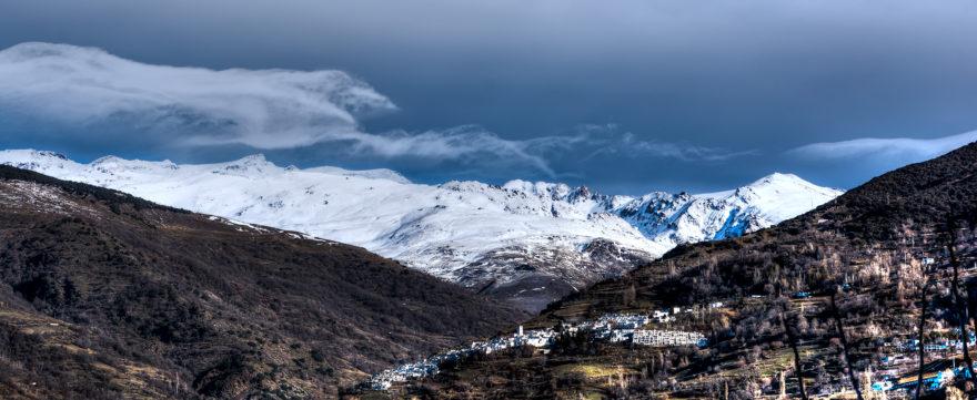 Sierra Nevada y el Mulhacén, la cima más alta de la península